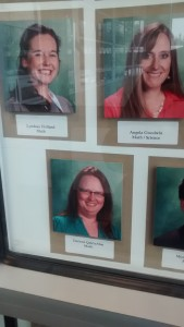 The three math teacher that current working at the FBCS – Photo by Dave Dowel