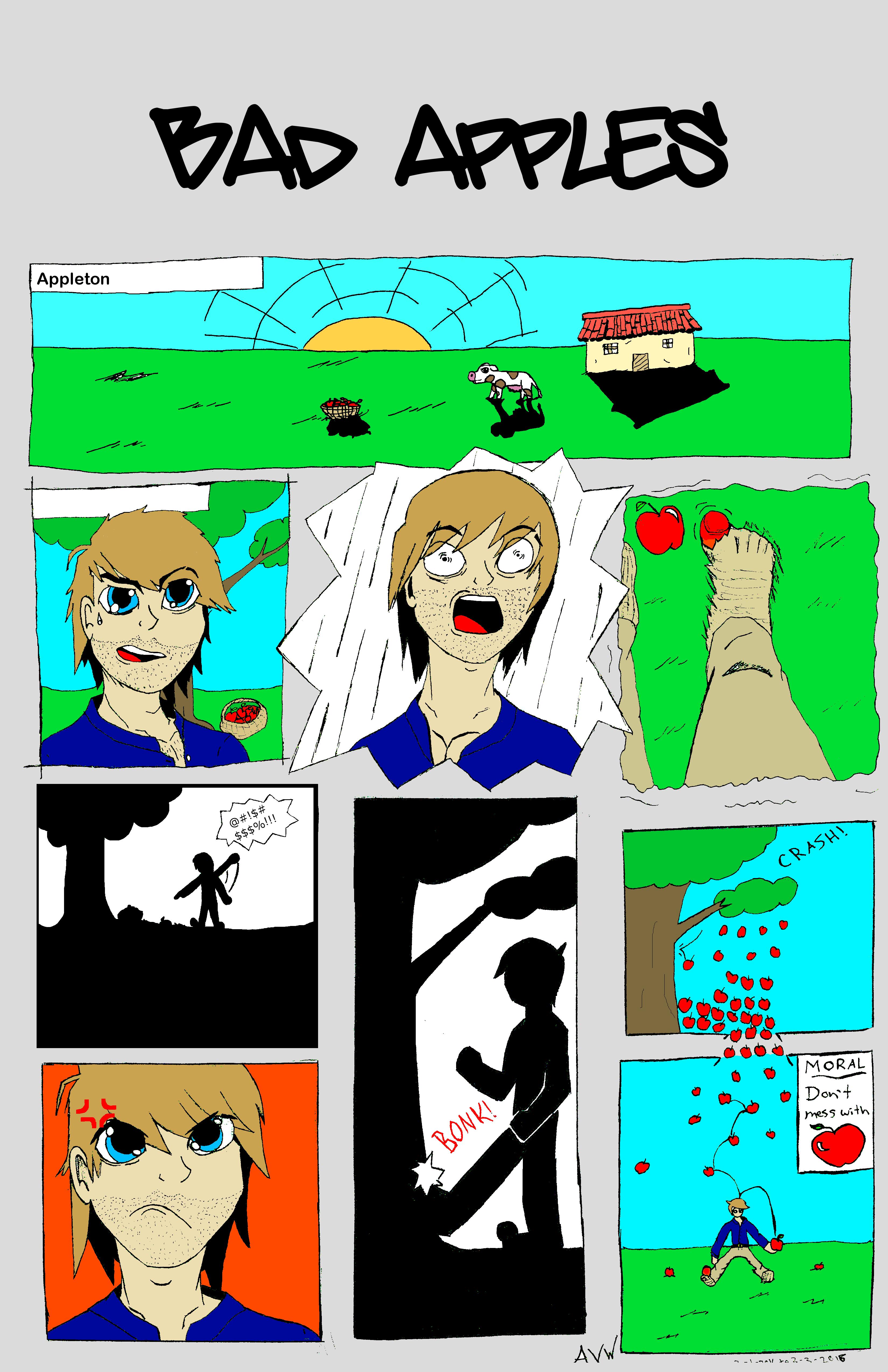 Bad Apples - Comic Strip (1)
