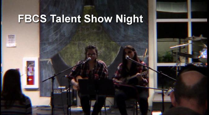 FBCS Talent Show Winners'