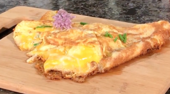 Meghan's Cooking Show: Cheese Omelet