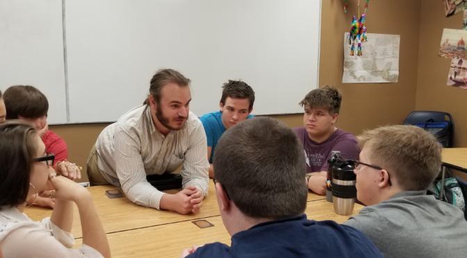 New Teacher at FBCS… Story by Aurora Reishus