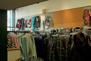 Entrenched Legacy... Larsons Clothing Store is one of the oldest buisnesses in Sandpoint. Photo By: Kai Eagley