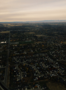 Birds eye view... Boise's best angle is from the sky. Photo by Eliza Litster
